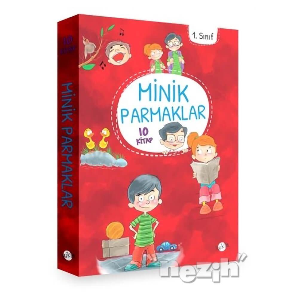 1 Sinif Minik Parmaklar 10 Kitap Duz Yazi Nezih