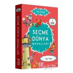 1. Sınıf Seçme Dünya Masalları Düz Yazılı - 10 Kitap Kitap - Thumbnail