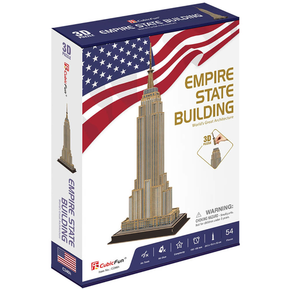 3D Empire State Binası CUB/C246H