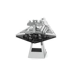 3D Lazer Kesim Metal Model Imperial Star Destroyer Silver - Thumbnail