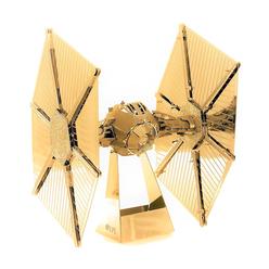 3D Lazer Kesim Metal Model Star Wars Tie Fighter Gold - Thumbnail