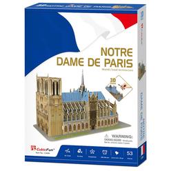 3D Notre Dame De Paris CUB/C242H - Thumbnail