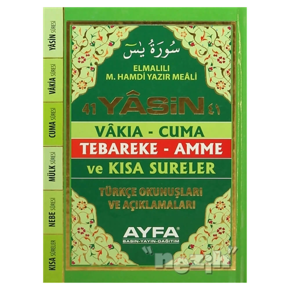 41 Yasin (Çanta Boy) Kod: 049