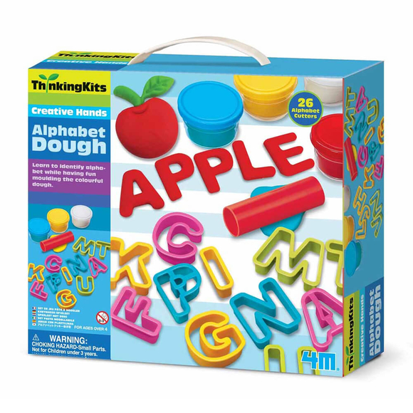 4M Alphabet Dough Alfabe Hamur Seti 4714