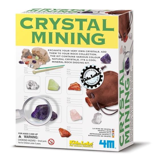 4M Kristal Madencilik Kazı Kiti 3252