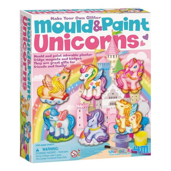 4M Mould & Paint Unicorn Parlayan Unicornlar 4708