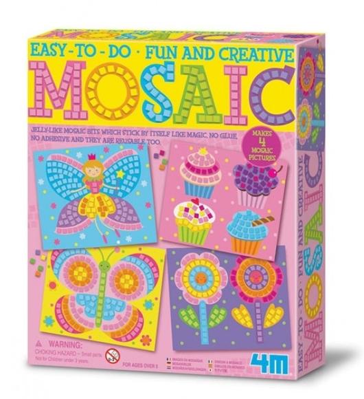 4M Mozaik 4'lü Sanat Seti 4598