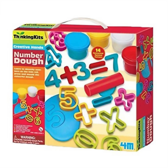 4M Number Dough Sayı Hamuru Seti 4715