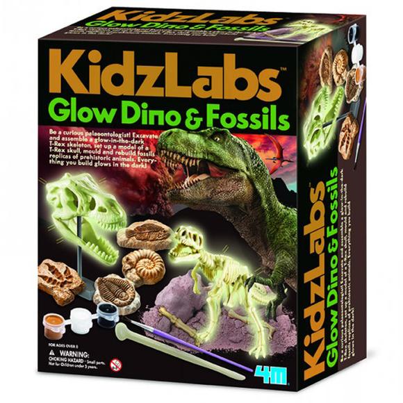 4m Parlayan Dinozor ve Fosiller 5528