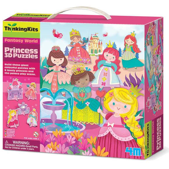 4M Prenses 3D Yapboz Puzzle 4718