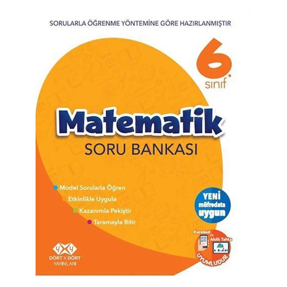 4x4 6. Sınıf Matematik Soru Bankası