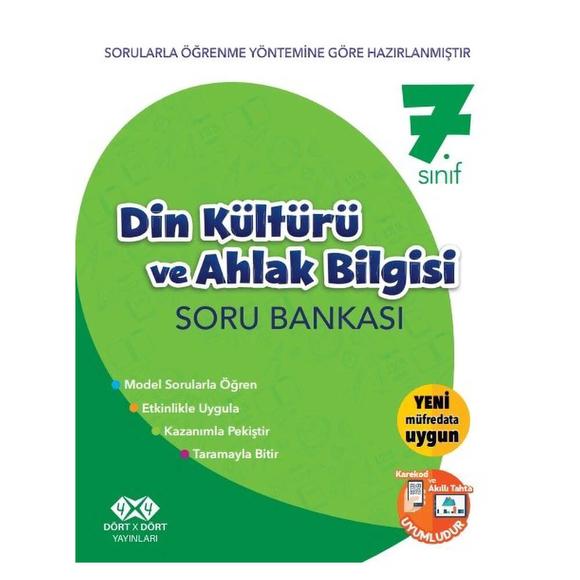 4x4 7. Sınıf Din Kültürü ve Ahlak Bilgisi Soru Bankası