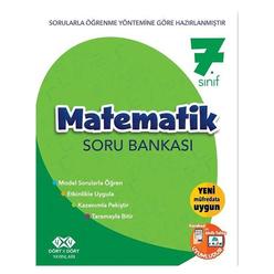 4x4 7. Sınıf Matematik Soru Bankası - Thumbnail