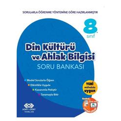 4x4 8. Sınıf Din Kültürü ve Ahlak Bilgisi Soru Bankası - Thumbnail