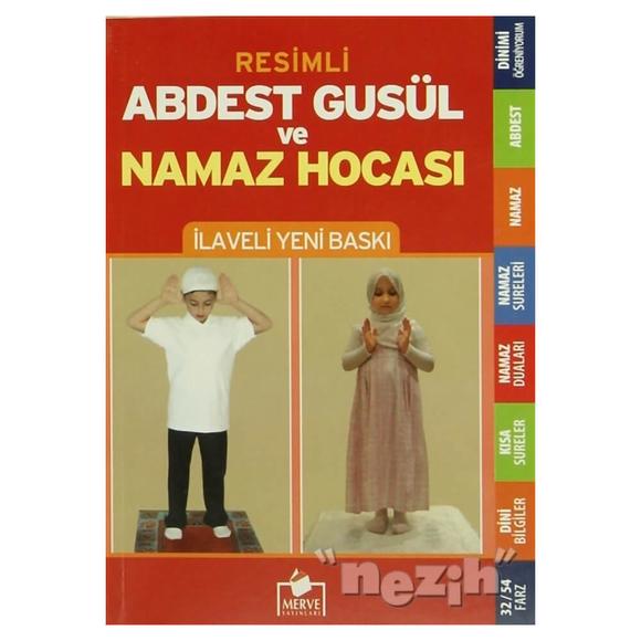 Abdest Gusül ve Namaz Hocası (Orta Boy Namaz-004)