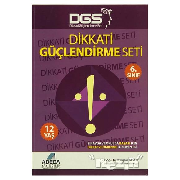 Adeda - DGS Dikkati Güçlendirme Seti 6. Sınıf - 12 Yaş