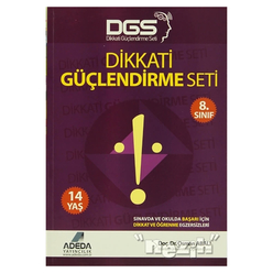 Adeda - DGS Dikkati Güçlendirme Seti 8. Sınıf - 14 Yaş - Thumbnail