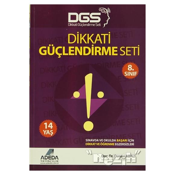 Adeda - DGS Dikkati Güçlendirme Seti 8. Sınıf - 14 Yaş