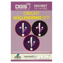Adeda - DGS MIXT Dikkati Güçlendirme Seti 12-14 Yaş - Thumbnail
