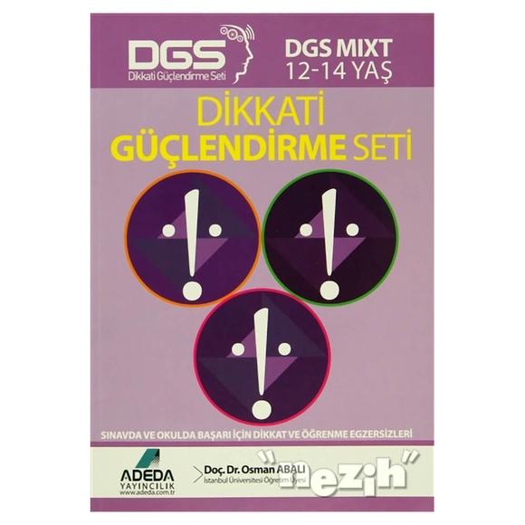 Adeda - DGS MIXT Dikkati Güçlendirme Seti 12-14 Yaş