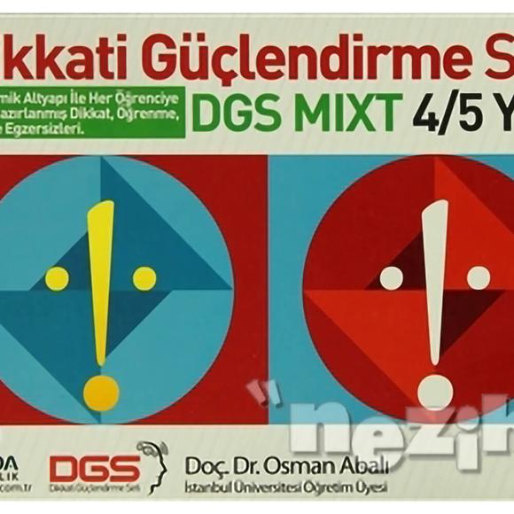 Adeda - DGS MIXT Dikkati Güçlendirme Seti 4-5 Yaş