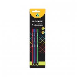 Adel 4 Renk Başlık Kalemi 4 lü Blister - Thumbnail