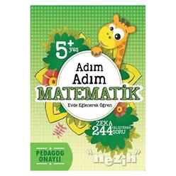 Adım Adım Matematik (5+ Yaş) - Thumbnail