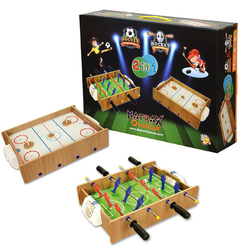 Ahşap Hokey ve Masa Maçı Oyun Seti - Thumbnail