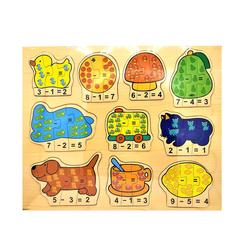 Ahşap Puzzle Matematik ABC-0017 - Thumbnail