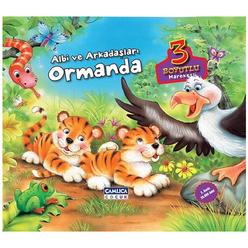 Albi Ve Arkadaşları Ormanda 3 Boyutlu - Thumbnail