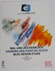 Alex Schoeller Teknik Çizim ve Resim Defteri 165 gr 25x35 cm - Thumbnail