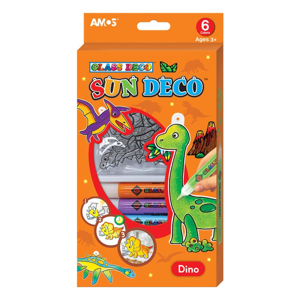 Amos Sun Deco Cam Boyama Seti Dinozorlar Sd10p6 D Nezih