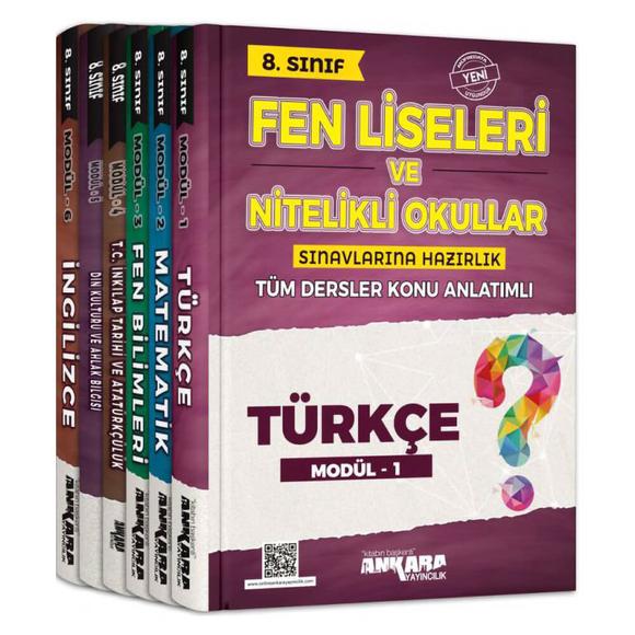 Ankara 8. Sınıf Fen Liseleri ve Nitelikli Okullara Hazırlık Tüm Dersler