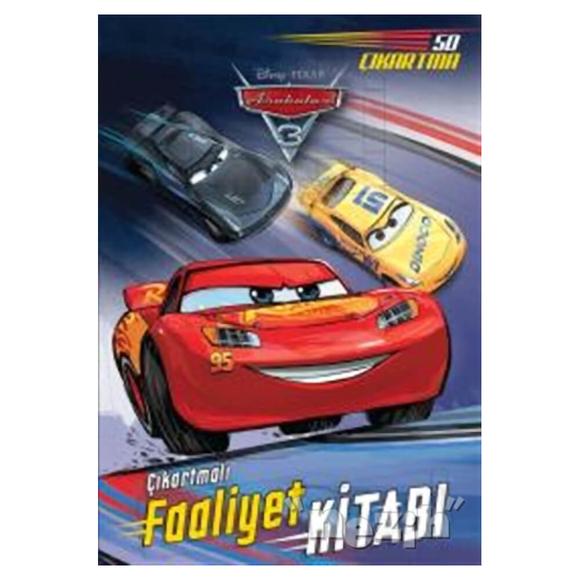 Arabalar 3 - Çıkartmalı Faaliyet Kitabı