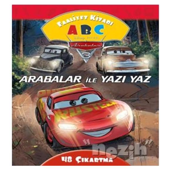 Arabalar İle Yazı Yaz Faaliyet Kitabı - Disney Arabalar 3