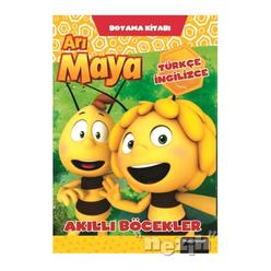 Arı Maya Akıllı Böcekler Boyama Kitabı - Thumbnail