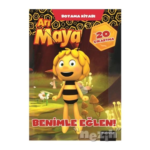 Arı Maya Benimle Eğlen Boyama Kitabı