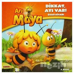 Arı Maya - Dikkat, Ayı Var! Öykü Kitabı - Thumbnail