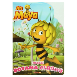Arı Maya Neşeli Boyama Albümü - Thumbnail