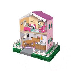 Arnas Toys 5074 3D Karton Maket Çiftlik Oyun Evi - Thumbnail