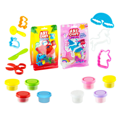 Art Craft 4'Lü Polybag Oyun Hamuru Seti 3548 - Thumbnail