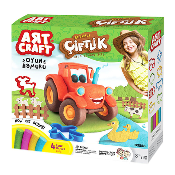Art Craft Çiftlik Hamur Set 200 Gr 3558