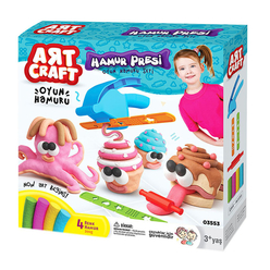 Art Craft El Presi Hamur Set 200 Gr 3553 - Thumbnail