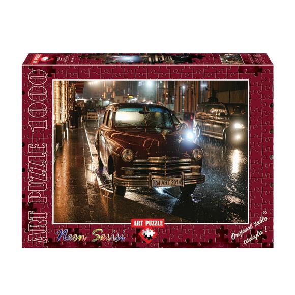 Art Puzzle 1000 Parça Neon Klasik 4334