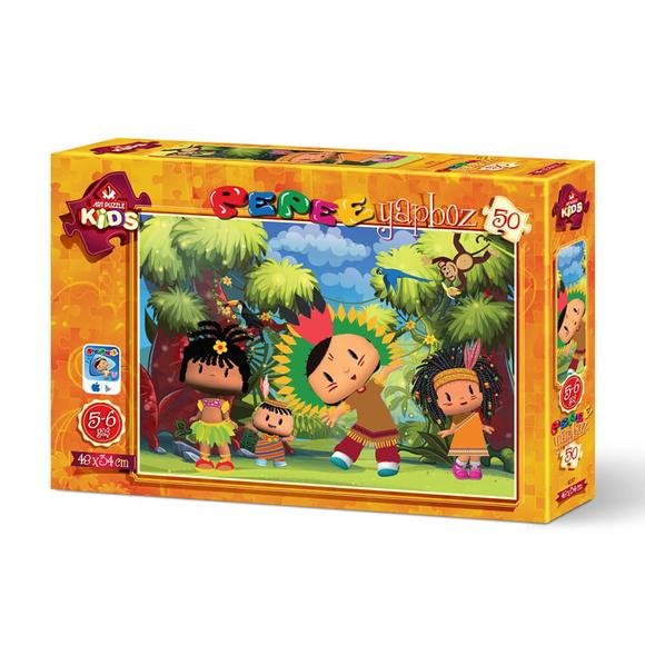 Art Puzzle 50 Parça Pepee Kabile Reisi 4237