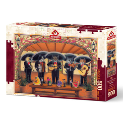 Art Puzzle 500 Parça Flamenko Miyav Ekibi 5082 - Thumbnail