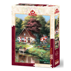 Art Puzzle 500 Parça Pazar Kahvaltısı 5078 - Thumbnail