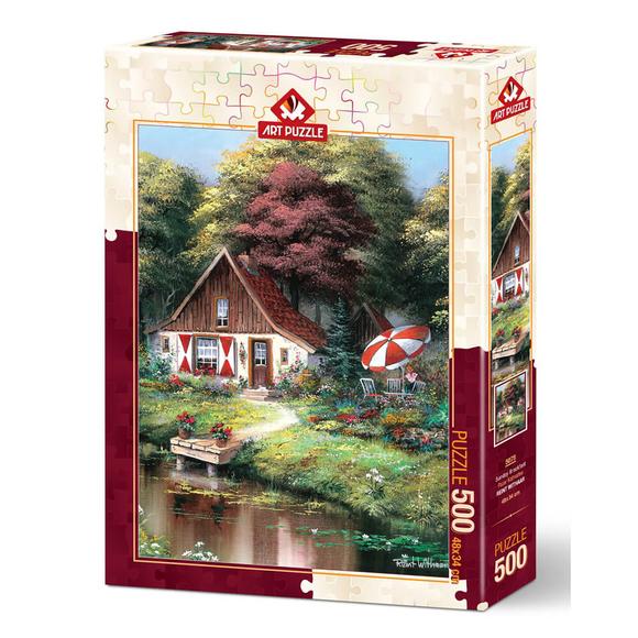 Art Puzzle 500 Parça Pazar Kahvaltısı 5078