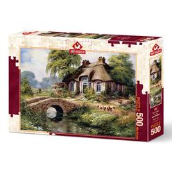 Art Puzzle 500 Parça Yeşil Köy 5080 - Thumbnail
