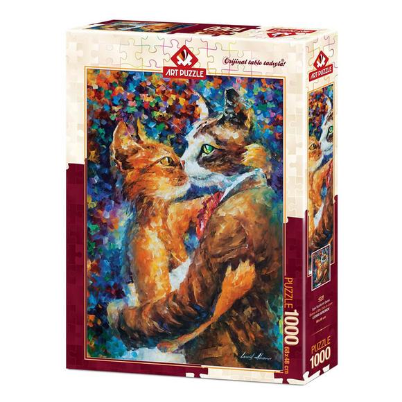 Art Puzzle Aşık Kedilerin Dansı 1000 Parça Puzzle 4226